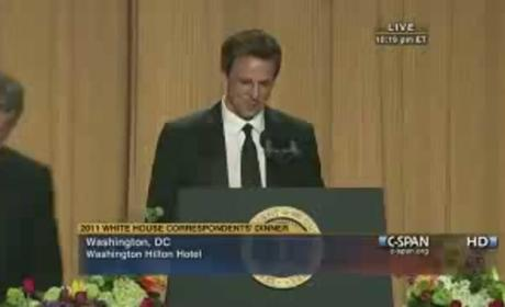 Seth Meyers at White House Correspondents' Dinner