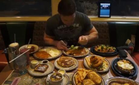 Jamie McDonald Eats ENTIRE Denny's Hobbit-Themed Menu in One Sitting