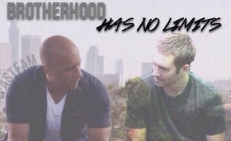 Vin Diesel with Paul Walker