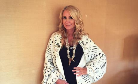 Kim Richards Poses