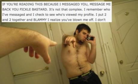 25 People Who Totally FAIL At Online Dating: Don't Be One of These Creeps!!