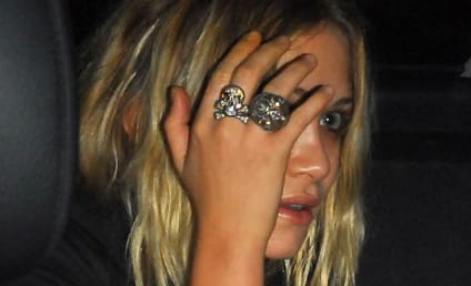 Mary-Kate Olsen Drives ... and Smokes