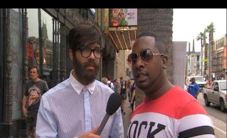 Drake Wears Disguise, Interviews Pedestrians About Drake on Jimmy Kimmel Live