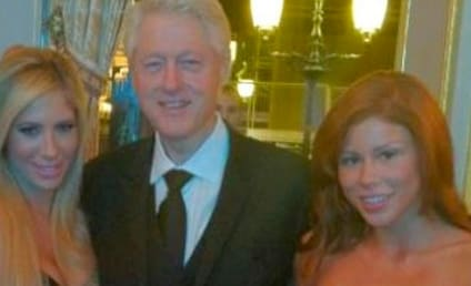 Bill Clinton, Porn Stars Mingle in Monaco