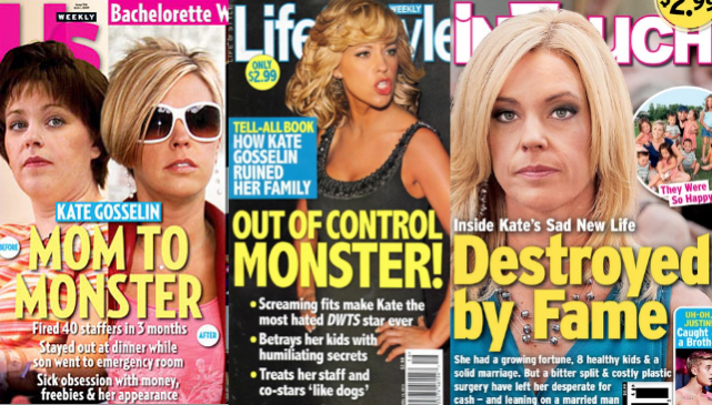 Kate Gosselin: Investigated By Child Services For Alleged Abuse of Collin!