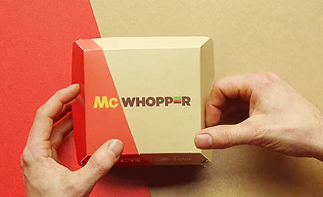 Burger King Makes Peace Offering to McDonald's