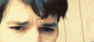 Ashton Kutcher Selfie