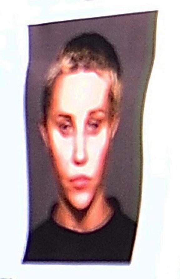 Amanda Bynes Mug Shot Photo