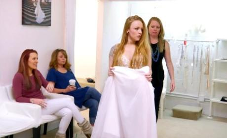 Maci Looks for a Dress