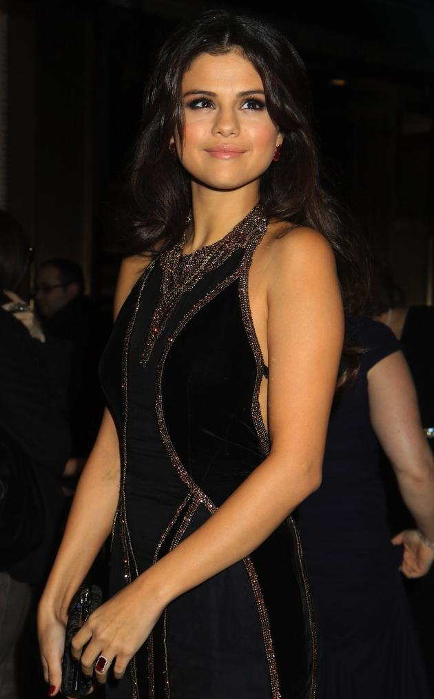 Selena Gomez at the Snowflake Ball