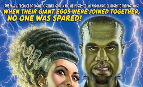 Mad Magazine Parodies Kimye Wedding, Unveils Bride of Frankenstein-Themed Poster