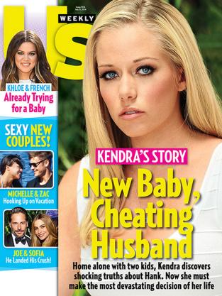 Kendra Wilkinson Us Weekly Cover