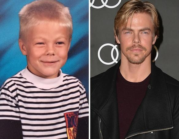 Derek Hough as a Kid