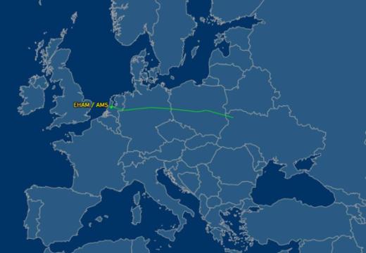 Flight Aware Map