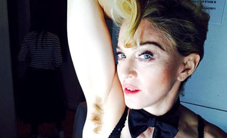 Madonna: Topless for Interview Magazine!