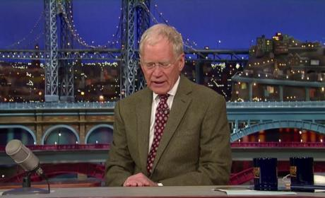 David Letterman to Retire in 2015