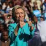 Hillary Clinton: Awkward Thumbs-Up!