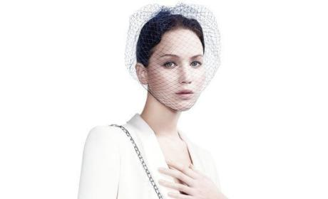 Jennifer Lawrence For Dior Pic