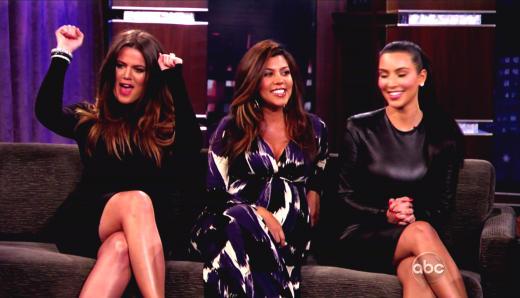Khloe Kardashian, Kourtney Kardashian and Kim Kardashian