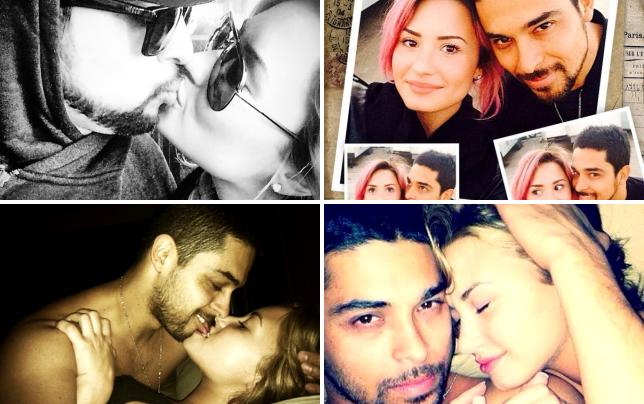 Demi and wilmer valderrama