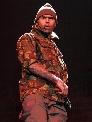 Chris Brown in Concert Pic