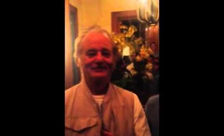 Bill Murray Offers Bachelor Party Advice