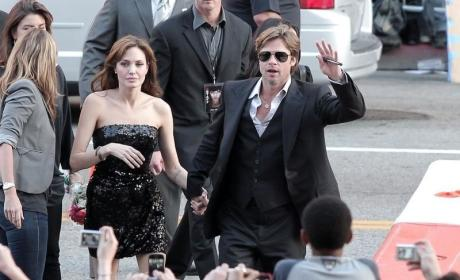 Brangelina on the Red Carpet: Salt Premiere Pics