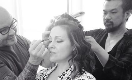 Alyssa Milano Breastfeeds While Getting Glammed Up, Pulls a Gisele