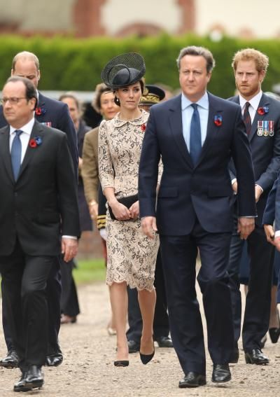 Kate Middleton 100th Anniversary Battle of Somme