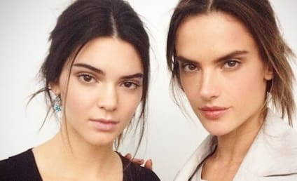 "Alessandra Ambrosio Praises ""Beautiful"" Kendall Jenner, Posts Backstage Photo with Young Model"