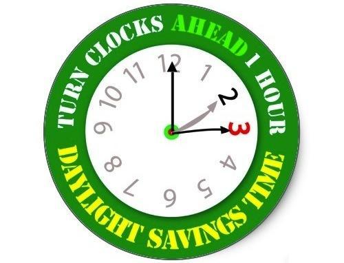 Daylight Savings Time 2013