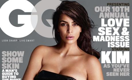 Kim Kardashian: Naked for GQ