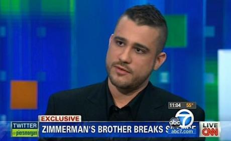 George Zimmerman's Brother: Sorry For Racist Tweets!