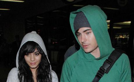 Zanessa Loves the Lakers!