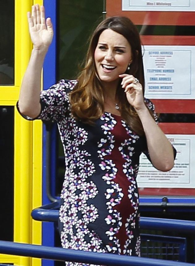 Kate Middleton, Floral Dress