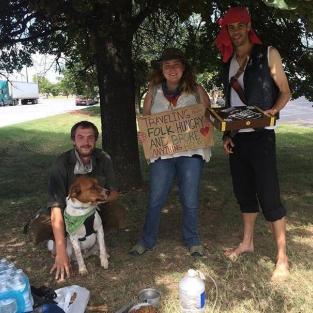 Derick Dillard Helping the Poor
