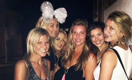 Lauren Conrad Bachelorette Party Pic
