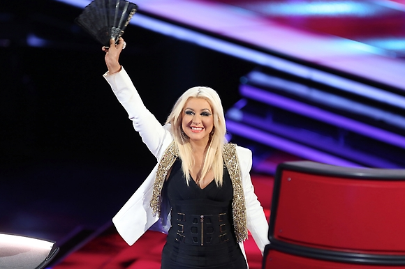 Aguilera on The Voice