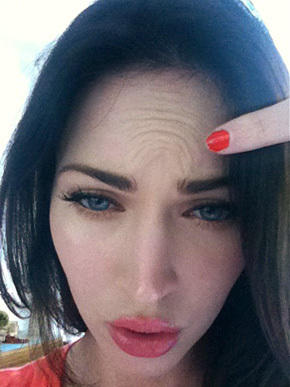 Megan Fox Facebook Photo