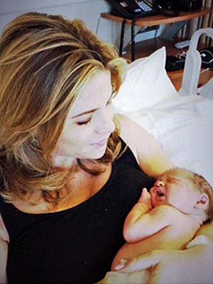 Jenna Bush, Baby