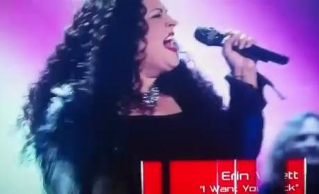 Erin Willet - I Want You Back (The Voice Audition)