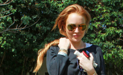 Red Hair, New Tattoo: A Day in the Life of Lindsay Lohan