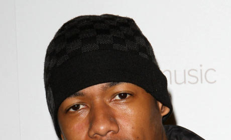 Nick Cannon with a Hat