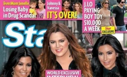 Khloe Kardashian Slams Tabloid Report, Former Stepmoms