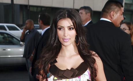 Kim Kardashian Attends a Screening of SiCKO