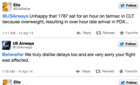 US Airways Apologizes for Epically Inappropriate Twitter Reply: NSFW Alert!