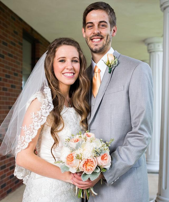 Jill Duggar Wedding Photo