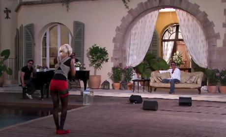 Tora Woloshin Sings for X Factor Satisfaction