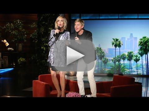 "Kristen Wiig and Ellen DeGeneres Sing ""Let It Go"""