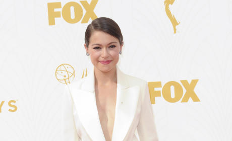 Tatiana Maslany at the Emmys
